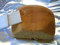 ホームベーカリーでブランデーケーキ2