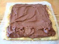 ココア豆腐クリームのロールケーキ2