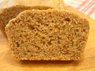 全粒粉100%の卵なしパウンドケーキ1