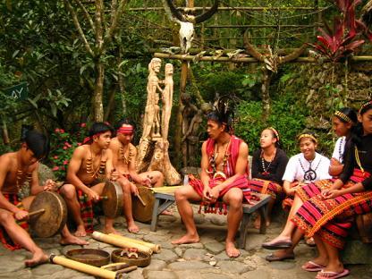 バギオの先住民ダンス