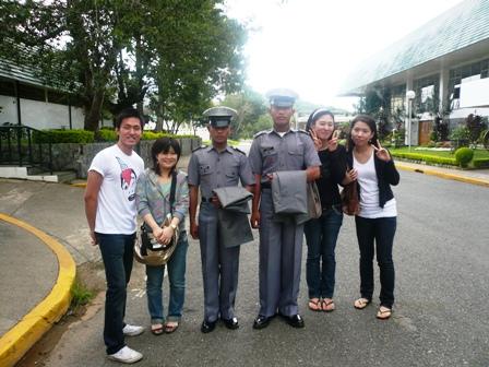フィリピン士官学生と