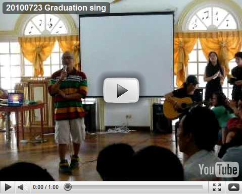 100723 Graduation sing 1