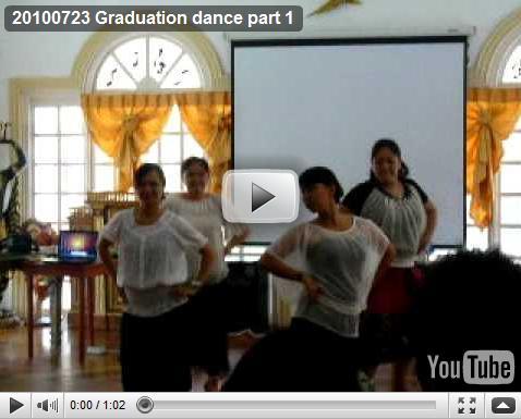100723 Graduation dance part1
