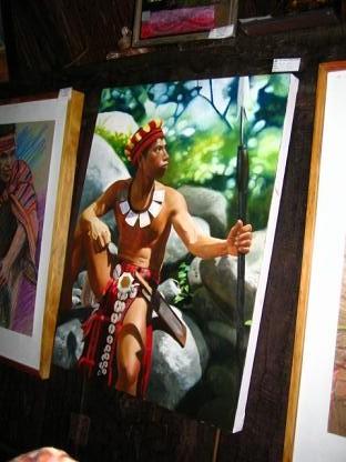 先住民のイラスト