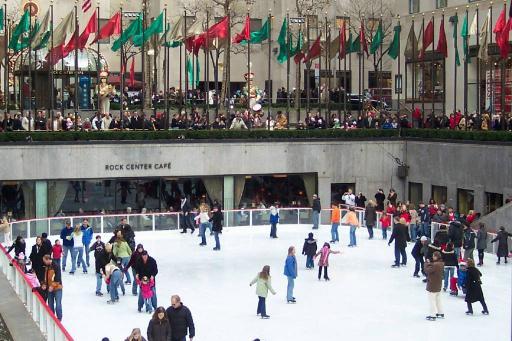 Ice skate at RF