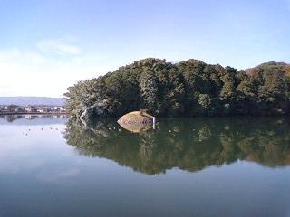 12月の垂仁天皇陵