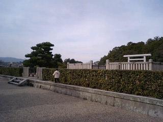 2010 正月 垂仁天皇陵