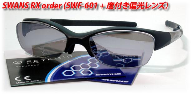 SWANS SWF-601度付き製作例