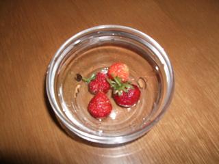 苺のお味は?