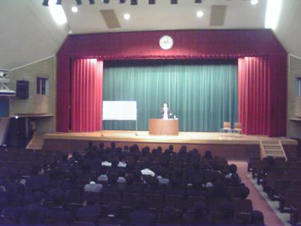 武蔵野中学講演2