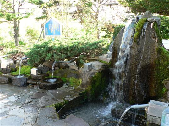 七飯岳の湧水050723