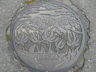 北海道マンホール蓋