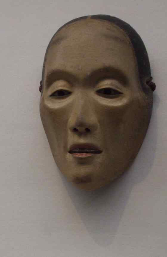 東京国立博物館2 能面 痩せ女