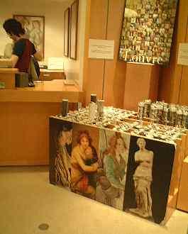 一番人気のポスターはミロのヴィーナスのルーブル美術館