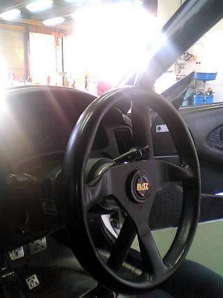 MR2車内