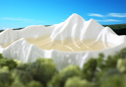 共栄デザイントポグラフィソーサー湖
