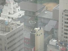ホテル日航金沢*25階から・・・ハートの屋根?.JPG