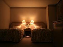 アルファリゾート・トマム*ザ・タワー28階禁煙室*bed room.JPG