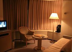アルファリゾート・トマム*ザ・タワー28階禁煙室*Living room.JPG