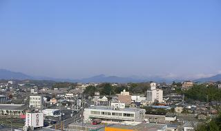 亀山市*ホテルエコノ亀山8階からの眺め.JPG