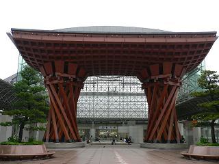 JR金沢駅東口*鼓門(つつみもん).JPG