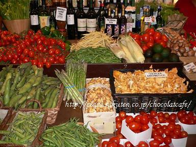 オステルマルム市場*きちんと並んだ美しいお野菜たち.JPG