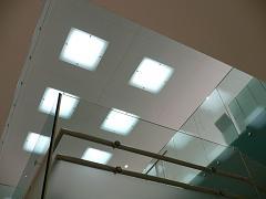 金沢21世紀美術館*天井からの自然光.JPG