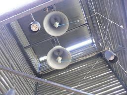 Otaniemen kirkko*Inside in belfry.JPG
