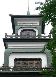 金沢*尾山神社のギヤマン.JPG