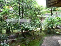 ホテル日航金沢*弁慶から見える中庭.JPG