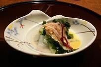 嵯峨沢館*花咲月*留〆・蛤酒煮.JPG
