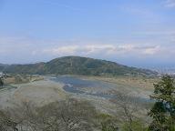 東名道*富士川SAの眺め.JPG