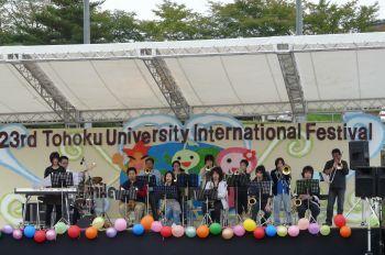 東北大学国際祭り 仙台ジュニアジャズオーケストラ