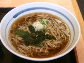 吉野家長津田店の牛丼と十割そばセット2