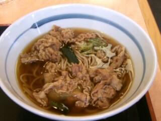 吉野家長津田店の牛丼と十割そばセット3