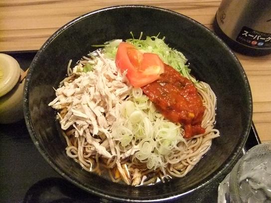 つけ蕎麦ぢゅるり@赤坂のトマト鶏そば(冷)1