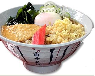 富士そばの丼