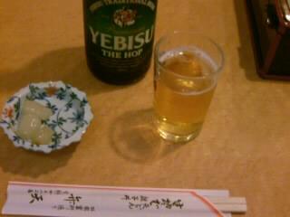 弁天@浅草でビール