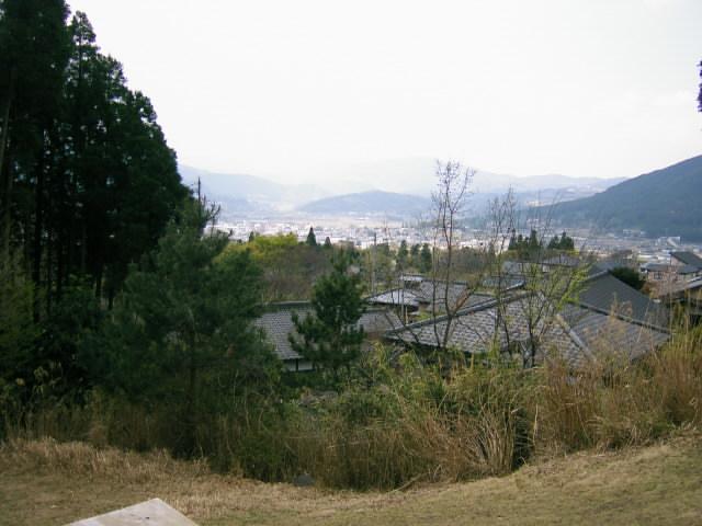 不生庵@湯布院からの景色
