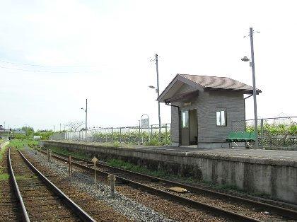 騰波ノ江駅ホーム