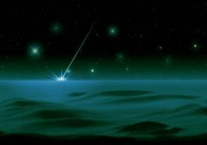 星落つるところ 緑