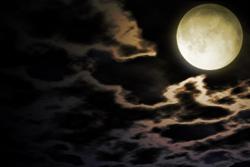 牢獄を照らす月