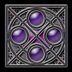 four pulple stone