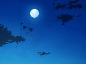月夜の天頂