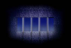 地下牢の鉄格子