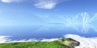 ソラータの湖と霊峰