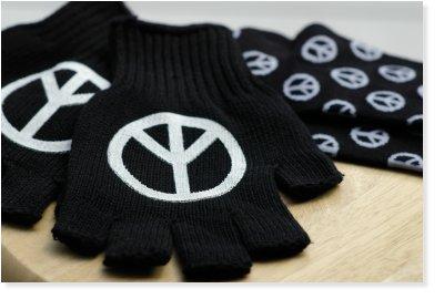 ピースマーク 手袋&靴下
