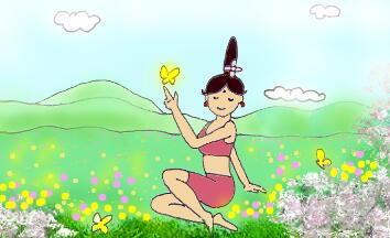 ナーダと花畑