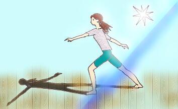 影とひかり☆ちゃん