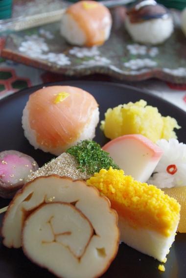 20110103 お料理を取って♪.jpg